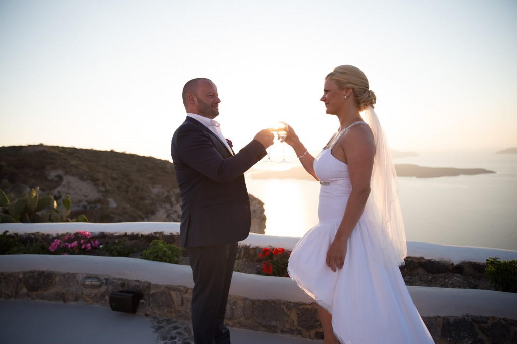 destination wedding Santorini