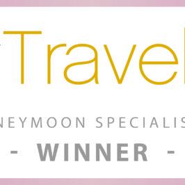 2016 Wedding and honeymoon specialist award