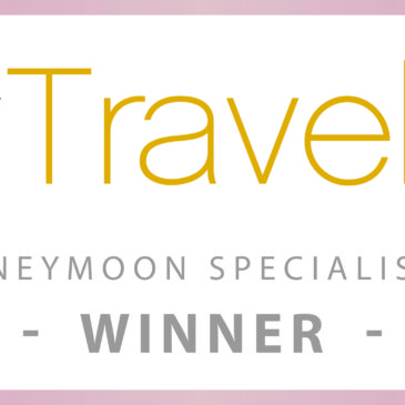 2016 Wedding and honeymoon specialist award