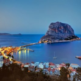 Castle weddings: Monemvasia Greece