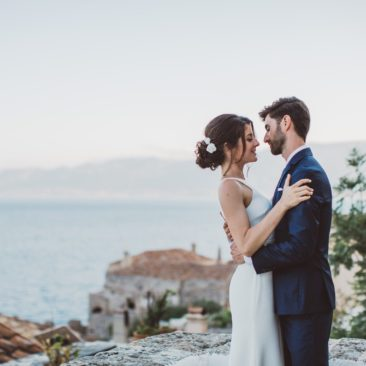 E&A Monemvasia Castle wedding