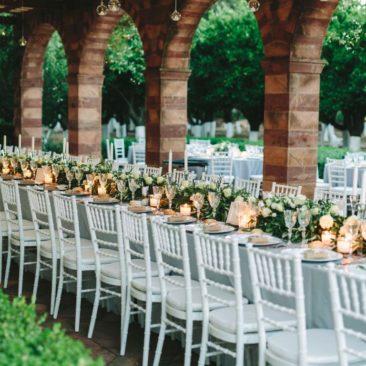 Chic Greek Island Wedding