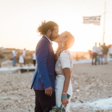 C&C Rocking Small Cyclades wedding