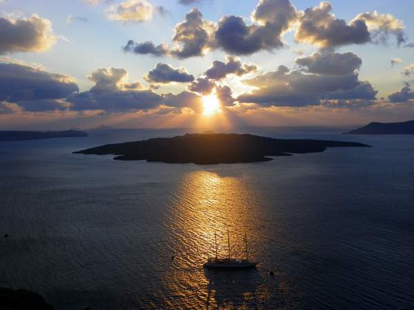 Santorini-weddings-sunset